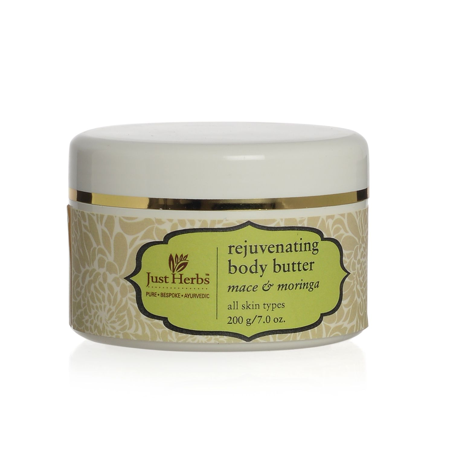 just herbs rejuvenating body butter mace and moringa just herbs featured brands beauty. Black Bedroom Furniture Sets. Home Design Ideas
