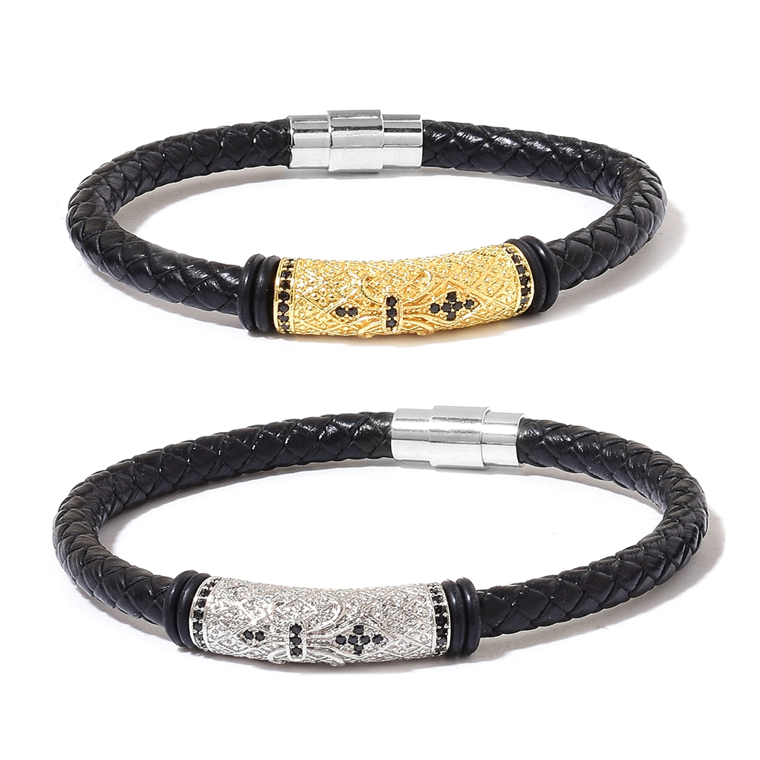 black ge wear bl gold x tennis diamond luxury v products ck s bracelet