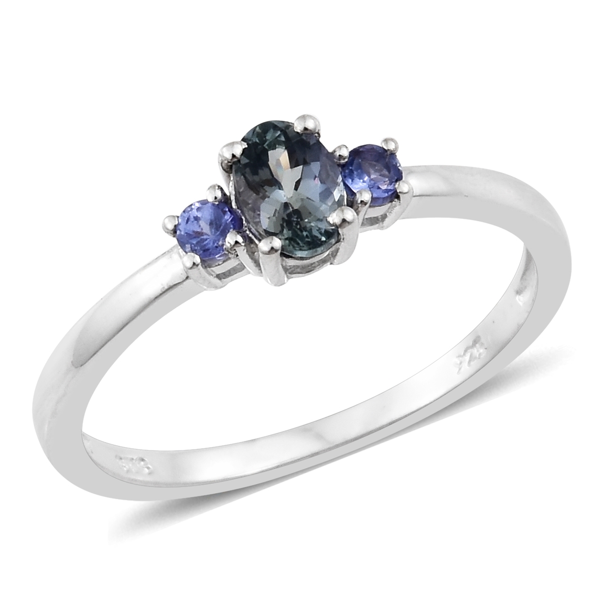 ring tanzanite sterling fashion jewelry silver p tgw peacock over store online rings platinum quartz size cts