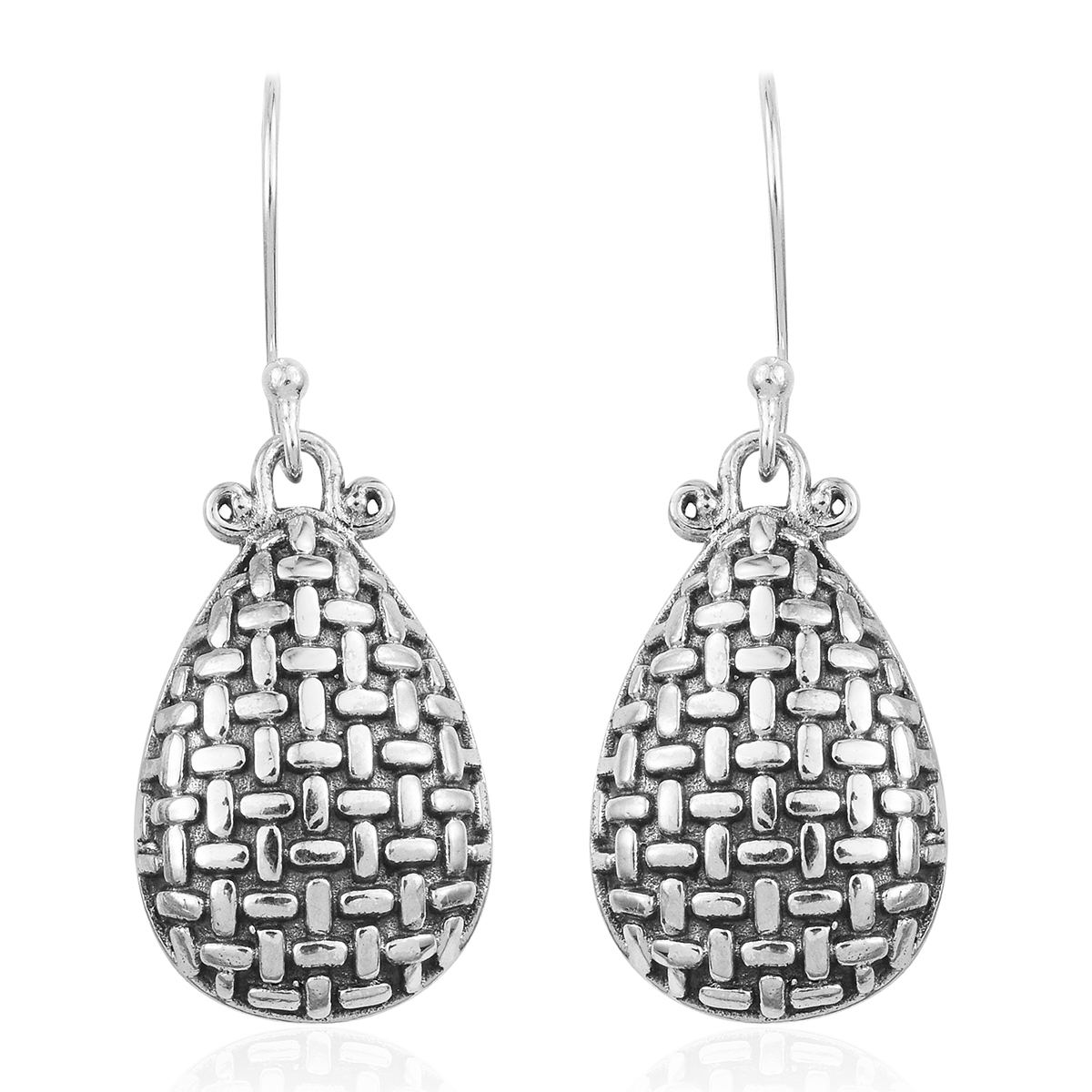 Traditional South Indian 7 Stone Diamond Earring Earrings Jewelry