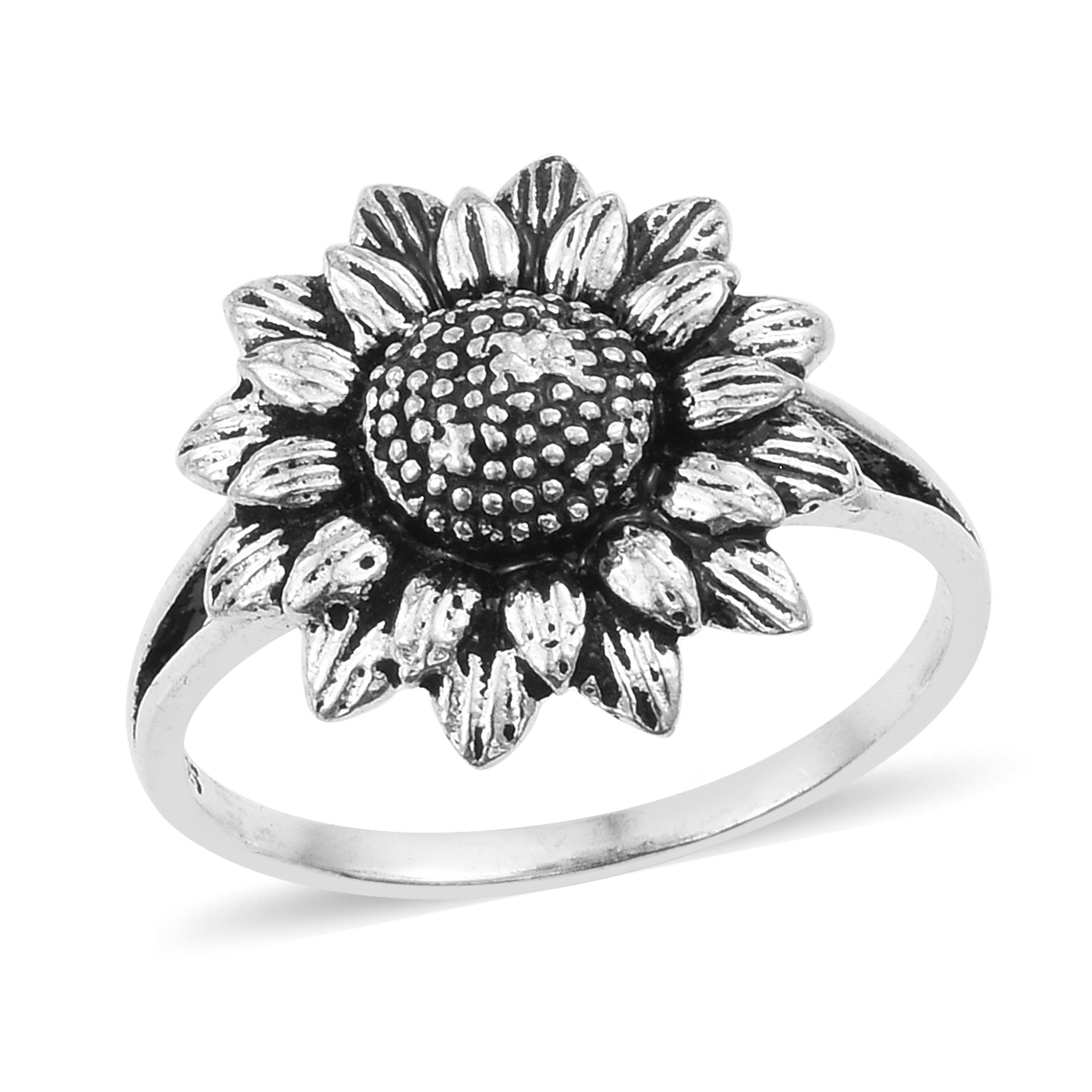 3d191db5f Artisan Crafted Sterling Silver Sunflower Ring (Size 6.0) (Avg 4.2 g) |  Try-On | Promotions | online-store | Shop LC