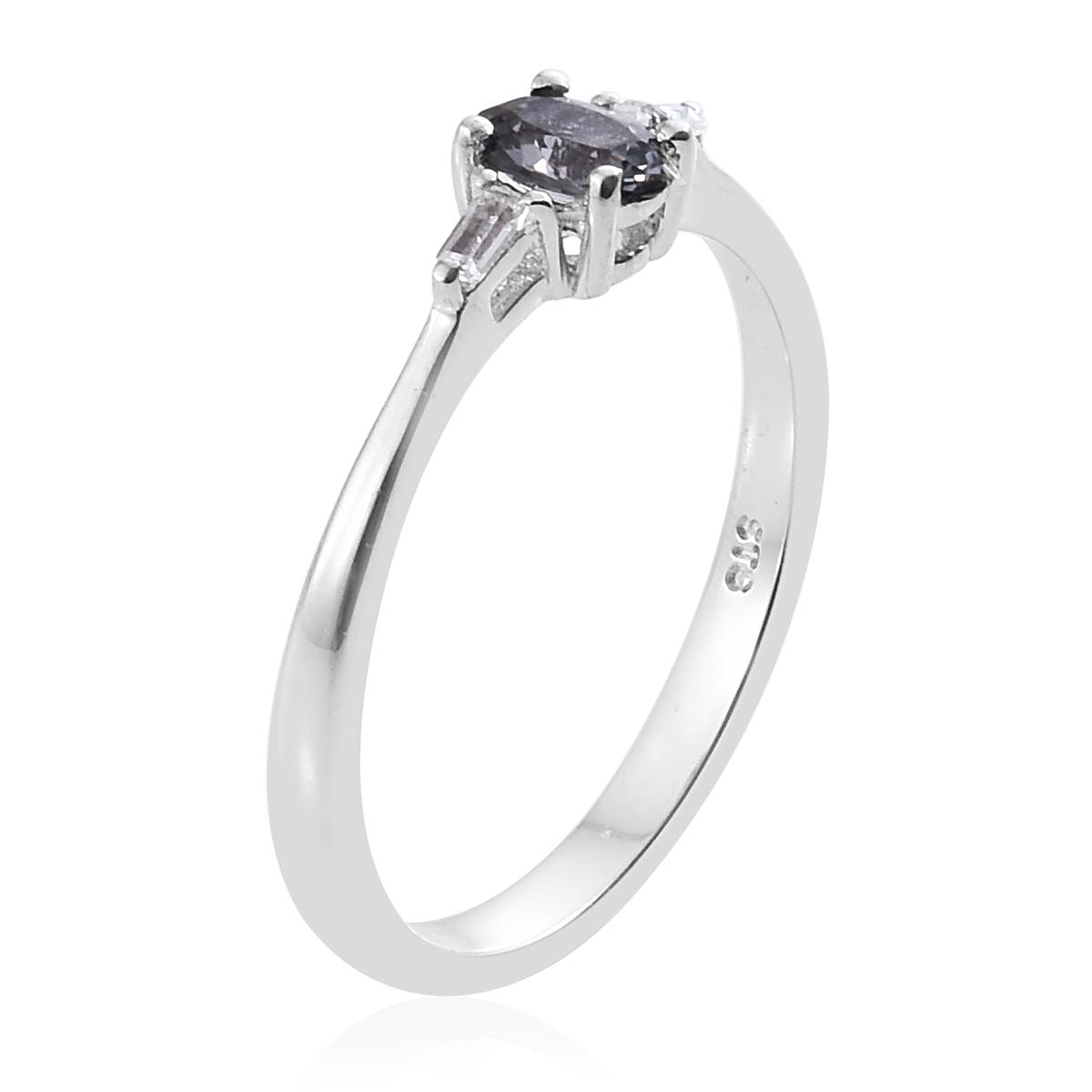 platinum spinel white topaz platinum over sterling silver ring size 7 0 tgw cts. Black Bedroom Furniture Sets. Home Design Ideas