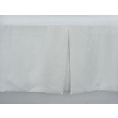 J Francis Hotel Collection Off-White Euro-Weave Bed Skirt California King