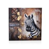 Safari Theme Zebra Painting (32 in)
