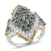 Narsipatnam Alexandrite 14K YG and Platinum Over Sterling Silver Ring (Size 5.0) TGW 3.000 cts.