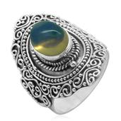 Bali Legacy Collection Ethiopian Welo Opal Sterling Silver Ring (Size 7.0) TGW 1.170 cts.