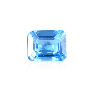 Electric Swiss Blue Topaz (Oct 11x9 mm)