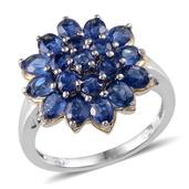 Himalayan Kyanite Platinum Over Sterling Silver Ring (Size 6.0) TGW 4.250 cts.