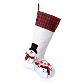 Snowman Stocking (19 in)