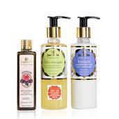Just Herbs 3-Step Hair Care Regime Kit (Dry/Normal)