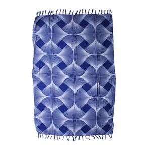 Navy Blue 100% Rayon Sarong (60x46 In)