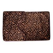Leopard Ultra Soft 3 Piece Bath Mat Set