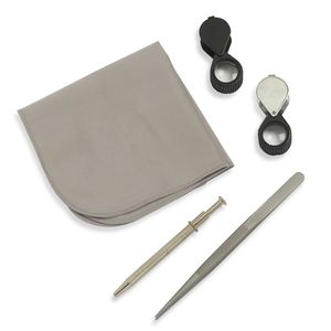 LC DIY Cloth, Chroma, Stainless Steel Gem Tool Kit