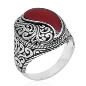 Bali Legacy Collection Sponge Coral Sterling Silver Ring (Size 5.0) TGW 12.000 cts.