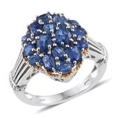 Himalayan Kyanite 14K YG and Platinum Over Sterling Silver Ring (Size 7.0) TGW 3.570 cts.