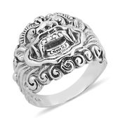Bali Legacy Collection Sterling Silver Ring (Size 7.0)