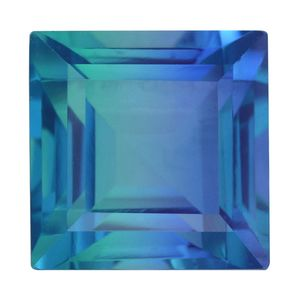 Indian Ocean Quartz (Sqr 13 mm) TGW 12.80 Cts.