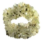 Prehnite Chip Bracelet (Stretchable) (7.00 In) TGW 355.500 cts.