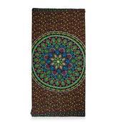 Multi Color Mandala Print Rayon Sarong (60x47 in)