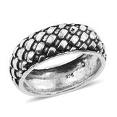 Tribal Collection of india Sterling Silver Ring (Size 9.0)