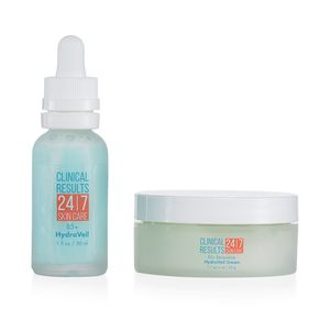 TLV Clinical Results 24.7 Hydra Veil Duo Includes HydraVeil Serum 1 fl oz & Hydraveil Cream 1.7 oz