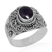 Bali Legacy Collection Niassa Ruby Sterling Silver Ring (Size 7.0) TGW 2.65 cts.