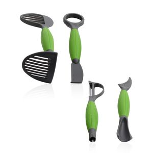 4 Piece Multi Kitchen Tool (Avocado, Produce, Chicken, and Butter Tools)