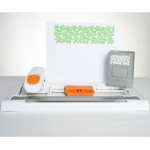 FISKARS AdvantEdge Punch System- Create Perfect Borders & Ribbons (with Interchangeable Design Cartridges)