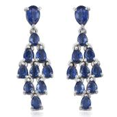 Himalayan Kyanite Platinum Over Sterling Silver Earrings TGW 4.40 cts.
