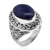Bali Legacy Collection Utah Tiffany Stone Sterling Silver Ring (Size 6.0) TGW 7.88 cts.