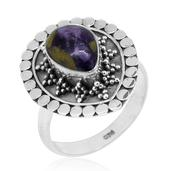 Bali Legacy Collection Tasmanian Stichtite Sterling Silver Ring (Size 7.0) TGW 2.37 cts.