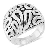 Sterling Silver Paisley Ring (Size 6.0) (7 g)