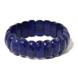 Lapis Lazuli Bracelet (Stretchable) (7.00 In) TGW 302.00 cts.