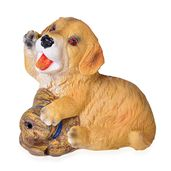 Chroma Barking Playful Dog Decor with Sound Effect (Requires 3 LR1130 Batteries) (Not Included)