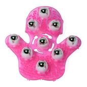 Massage Glove with 9 360 Rotation Steel Balls (Easy To Use)
