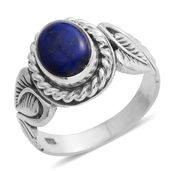 Bali Legacy Collection Lapis Lazuli Sterling Silver Ring (Size 7.0) TGW 2.05 cts.