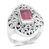Bali Legacy Collection Niassa Ruby Sterling Silver Ring (Size 6.0) TGW 2.37 cts.