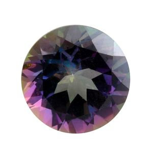 Northern Lights Mystic Topaz (Rnd 10 mm) TGW 3.62 cts.