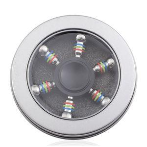 Black Stainless Steel 6 Side Spinner