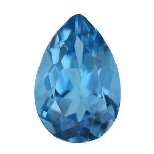 Swiss Blue Topaz (Pear 12x8 mm) TGW 3.10 cts.