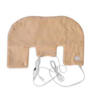 One Time Only Beige Electric Heating Pad For Neck & Shoulder (25x18 in)