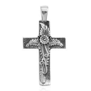 Sterling Silver Cross Pendant without Chain (2.6 g)