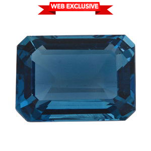 London Blue Topaz (Oct 18x13 mm) TGW 18.00 cts.