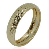 Bali Legacy Collection 10K YG Diamond Cut Band Ring (Size 7.0)