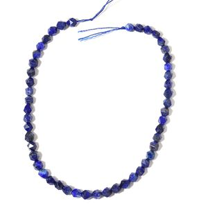 Gem Workshop Lapis Lazuli Beads String (15 in) TGW 123.50 cts.