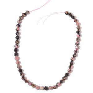 Gem Workshop Rhodolite Beads String (15 in) TGW 123.50 cts.