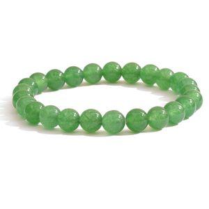 Green Aventurine Sterling Silver Bracelet TGW 90.00 cts.
