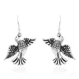 Sterling Silver Flying Dove Earrings (5.5 g)