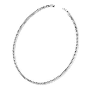 Stainless Steel Franco Necklace (30 in)
