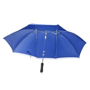 Blue Couple Umbrella in One Holder (31.5 in)